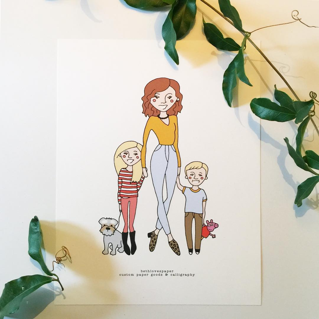 Gorgeous momma and her cuties thanks so much ohgingersnap81 Imhellip
