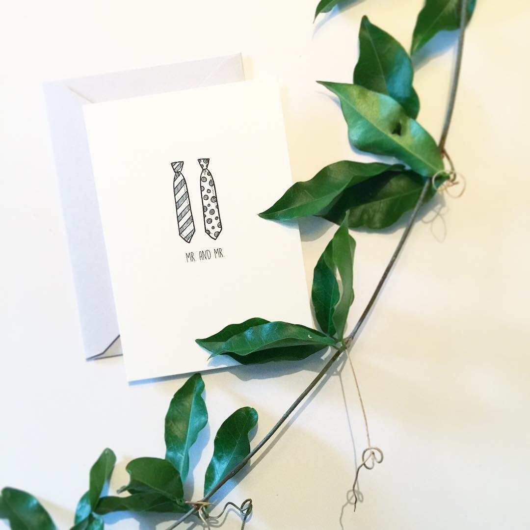 amp mrandmr weddingcard congrats bethlovespaper customprinting customdesign loveislove